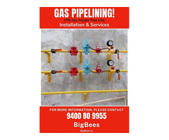 LPG Cooking Gas Pipelining