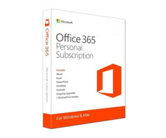 Microsoft Office 365 1 Device, 1 Year, Personal