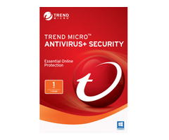 Trend Micro Antivirus Plus 1 PC, 1 Year