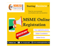 MSME Registration | SSI | UDYAM | Udyog Aadhar Registration India