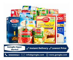 Order Your Craving Grocery With GoingBo Hyper Market