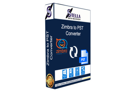Stella zimbra file converter software