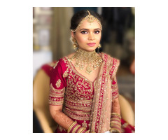 Bridal makeup services in Delhi