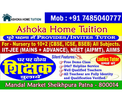 Home Tuition in Patna - 7485040777 - Tuition Bureau in Patna