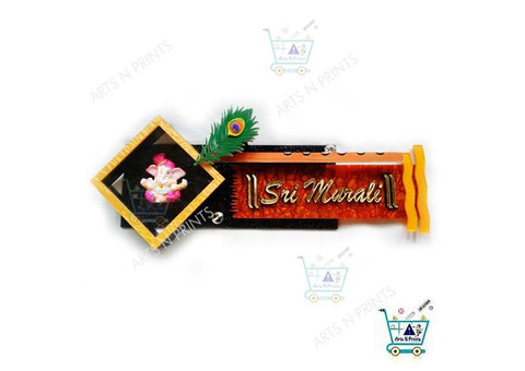 Fashionable House Name Plate made in Acrylic