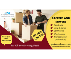 Find best packers and movers from Pune to Gurgoan at reliable price