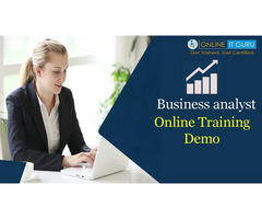 Business analyst Online Training Free Live demo
