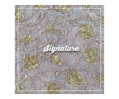 Buy Thistle Purple Net Fabric With Thread and Floral Embroidery at MK SIGNATURE Groom and Bride