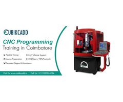 CNC Programming Courses in Coimbatore