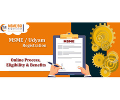 India MSME / Udyam Registration online process and Benefits