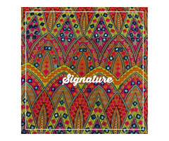 Buy Colorful Georgette Fabrics With Stylish Design at MK SIGNATURE Groom and Bride