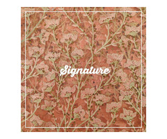 Buy Cantaloupe Net Fabric With Floral Bloom Thread And Sequence Work at MK SIGNATURE Groom and Bride