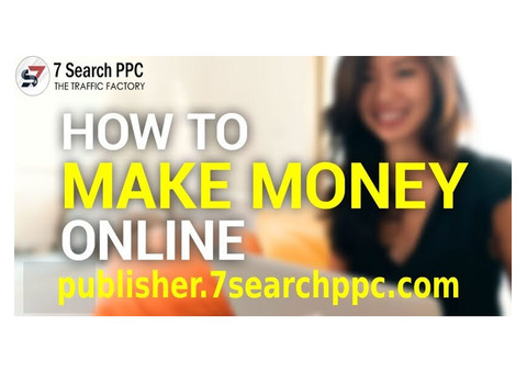 Earn Money from Your Website/Blog - Become 7SearchPPC Publisher