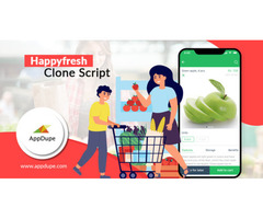 Venture into grocery delivery with HappyFresh clone app