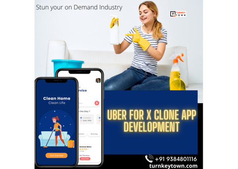 Uber for X on-demand services   Uber for x on-demand service app - Turnkeytown