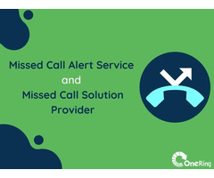 Missed Call Alert Service   Missed Call Service Provider  
